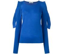 Pullover mit geschlitzten Ärmeln - women