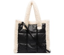 Lolita Quilt faux-leather tote bag