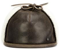 Kappe aus Leder - men - Leder - L