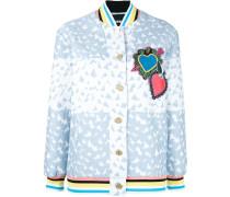 Heart Varsity bomber jacket