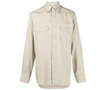 Button-down-Hemd mit Brusttaschen