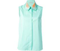 - Hemd mit Spitzenkragen - women