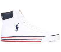 Gestreifte High-Top-Sneakers - men