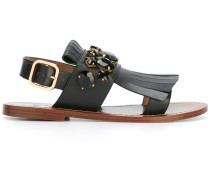 Sandalen mit Schmucksteinen