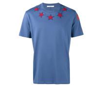 T-Shirt mit Stern-Applikationen