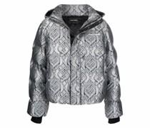 Lotan metallic puffer jacket