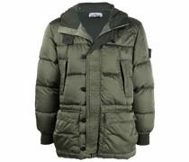 Raso hooded puffer jacket