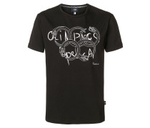 T-Shirt mit Olympia-Print