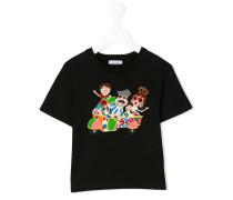 """T-Shirt mit """"Familien""""-Patch"""