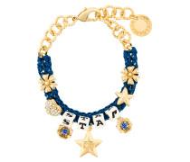 star dice charm bracelet