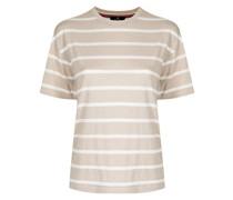 T-Shirt mit Metallic-Streifen