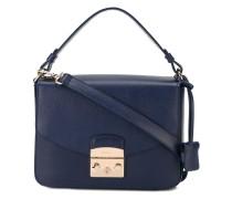 Mittelgroße Handtasche mit Klappdeckel