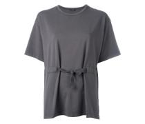 T-Shirt mit geknoteter Taille