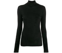 Gerippter Lurex-Pullover