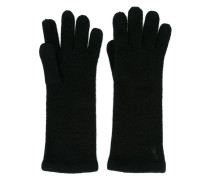 embroidered logo gloves