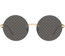 Gepunktete Sonnenbrille