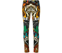 butterfly print trousers