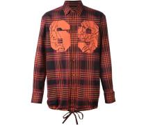 '69' Hemd mit Karomuster
