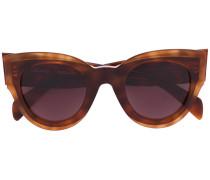 'Petra' Sonnenbrille - women - Acetat - 48