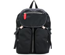 Rucksack mit zwei Vordertaschen