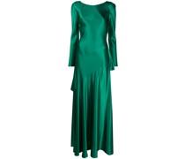 Ausgestelltes Abendkleid mit V-Ausschnitt