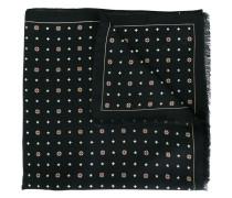 Jacquard-Schal mit geometrischem Muster