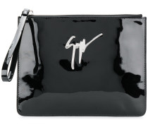 Mergery mirrored clutch