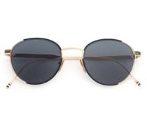 12kt Goldsonnenbrille mit rundem Gestell