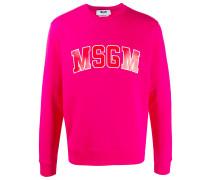 Sweatshirt mit College-Logo