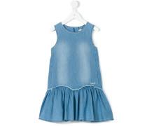 Kleid mit Stone-Wash-Effekt - kids - Baumwolle