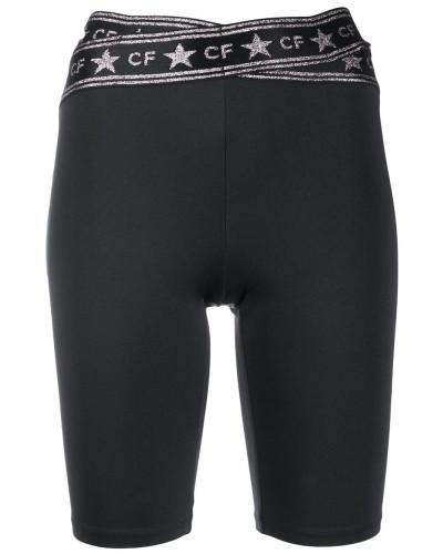 logo-print slim-fit shorts