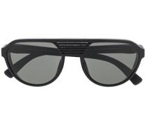 Getönte 'Peak' Pilotenbrille