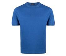 T-Shirt aus Feinstrick