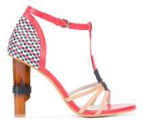 Sandalen mit hohem Absatz - women - Leder - 38