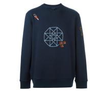 embroidered graphic sweatshirt