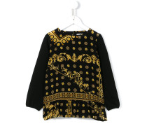 'Majolica' Bluse mit Print