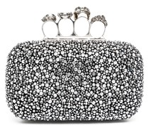 four-ring embellished clutch
