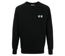 Sweatshirt mit Fuchs-Patches