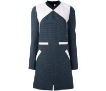 Tweed-Kleid in Colour-Block-Optik
