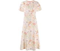 Ausgestelltes 'Flower Canopy' Kleid