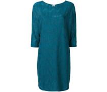 Kleid mit Metallic-Details