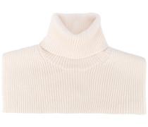 high neck collar shawl - women - Wolle - M