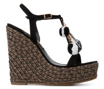 'Lucita' Sandalen in Espadrille-Optik