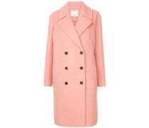 'Luxe' Mantel mit doppelter Knopfleiste