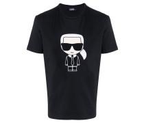 "T-Shirt mit ""Ikonik""-Stickerei"
