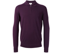 Langärmeliges Poloshirt - men - Wolle - 46