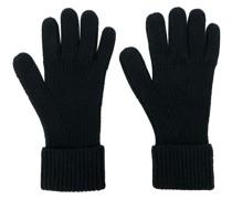 Gerippte Handschuhe aus Kaschmir
