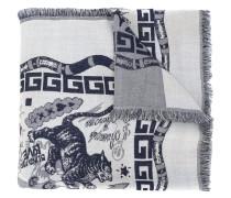 Schal mit Greca-Print