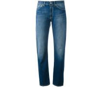 Jeans mit gerolltem Saum