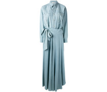 lightweight denim skirt suit
